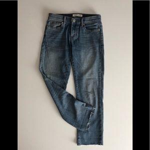 Banana Republic Petite Straight Jean